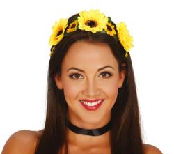 Tiara Gele Bloemen