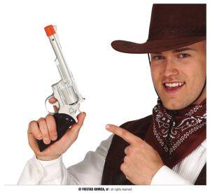 Cowboy pistool zilver