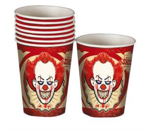 8 bekertjes clown - Halloween