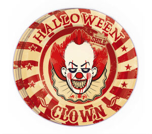 8 borden clown - halloween