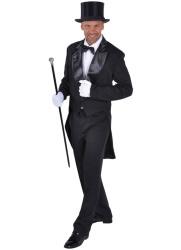 Slipjas Cabaret Heren - zwart
