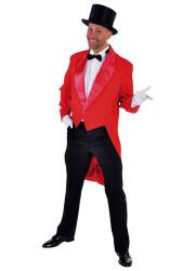 Slipjas Cabaret Heren - rood