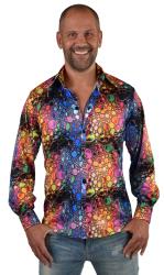 Party blouse jersey-colour drops