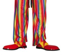 Clownschoenen Extra Kwaliteit - rood/geel