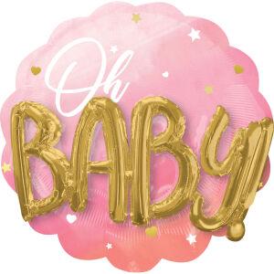 Folieballon boeket Oh Baby Girl P75