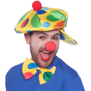 Clownspet met stippen