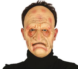 Foam masker oudere man