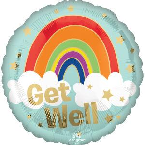 Folie ballon Get well