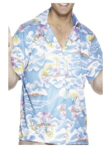Hawaiian Shirt, Blauw
