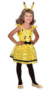 Kinderkostuum Pikachu jurk