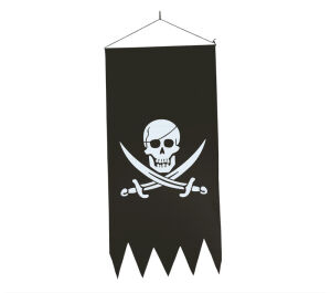 Pirate Banner 43X86 Cm