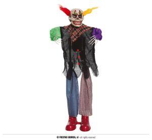 Clown met licht, geluid en beweging