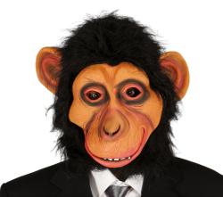 Masker Chimpansee met haar