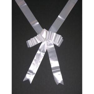Wit lint voor een strik