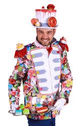 Carnavalsjas cupcakes voor heren