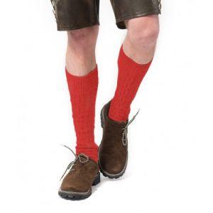 Tiroler Kniekousen Deluxe rood