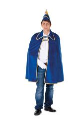 Prinsencape Fluweel voor Heren inclusief steek