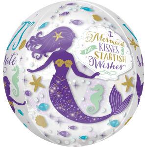 Folieballon Orbz Mermaid Wishes G20