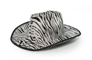Westerse Hoed Zebra