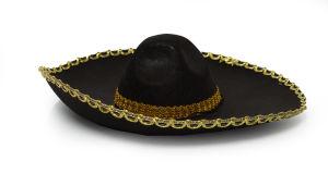 Sombrero Zwart / Goud