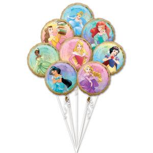 Folieballon Bouquet Princess Once Upon A Time 8-delig P75