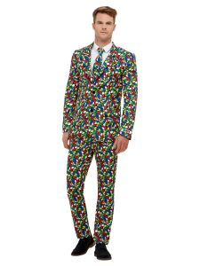 Rubik's Cube Suit, Multi-Coloured