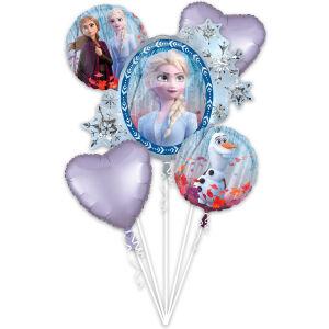 Folieballon Bouquet Frozen 2 5-delig P75