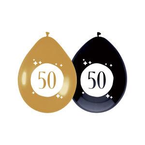 Ballonnen Festive Gold 50