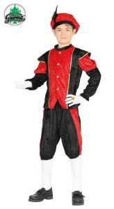 Piet kind rood-zwart