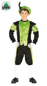 Piet kind groen-zwart
