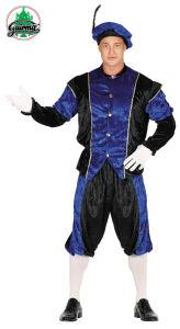 Pietenpak heren Blauw-Zwart