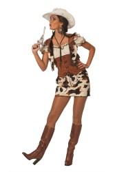 Sexy Cowgirl Ringo Kostuum voor Dames