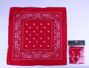 Boeren zakdoek rood