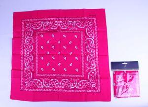 Boeren zakdoek roze