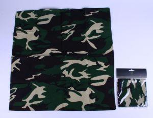 Boeren zakdoek camouflage / leger