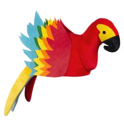 Papegaaien Hoed Rood