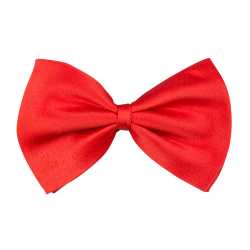 Vlinderstrik Basic - rood