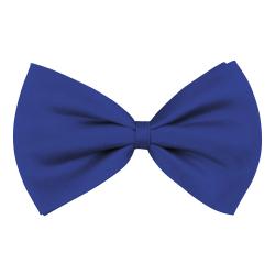 Vlinderstrik Basic - blauw