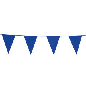 Vlaggenlijn blauw 10meter
