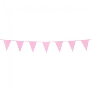 Mini vlaggenlijn pink