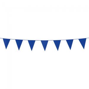 Mini vlaggenlijn blauw