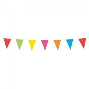 Mini vlaggenlijn multi colors