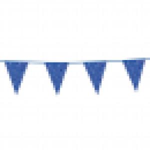 Glitter vlaggenlijn blue 6m