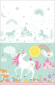 Plastic tafelkleed Unicorn
