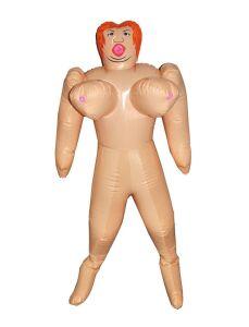 Opblaaspop naakt vrouw