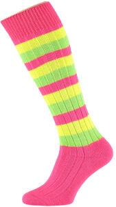 Voetbalkous Kous Pink/Yellow/Green