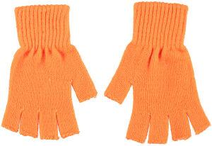 Vingerloze handschoenen fluor oranje