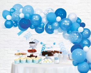 Balloon deco kit blauw