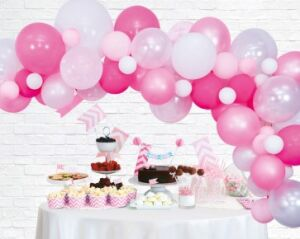 Balloon deco kit roze