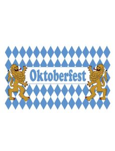 Gevelvlag Oktoberfest leeuwen